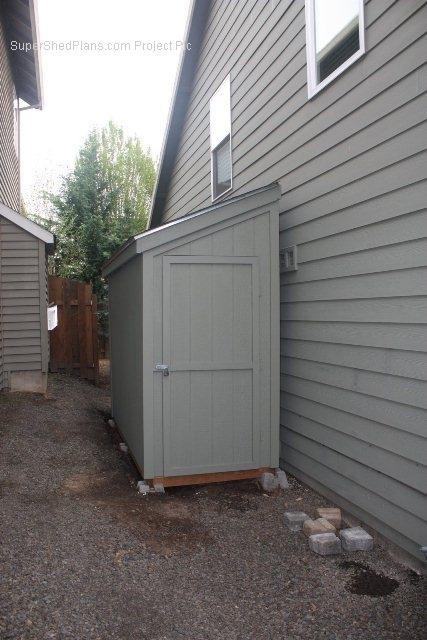 Custom Design Shed Plans 12x16 Gable Storage Diy Wood Set On Cd 741533275397 Ebay