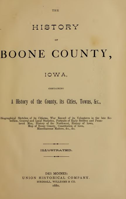 Boone County, IA