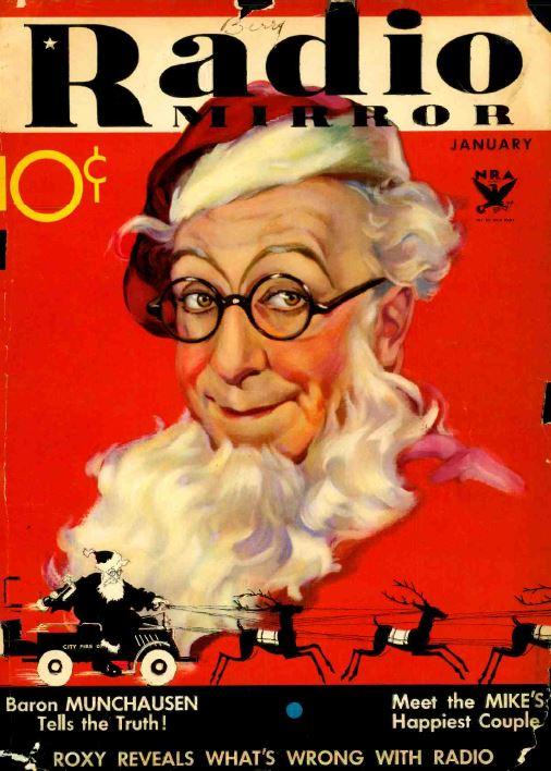 Radio Mirror, 332 Vintage Old Time Radio Magazine