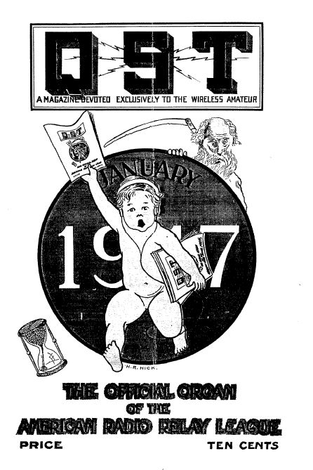 qst magazine  volume 1  191 vintage old time ham radio