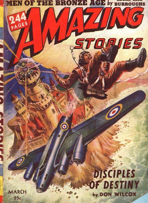 Amazing Stories Vol 3, 52 Classic Pulp Magazine, Fiction