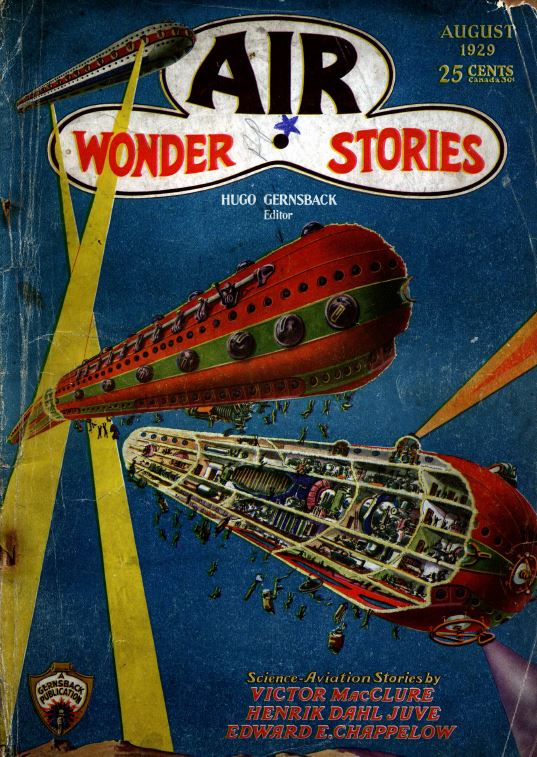 Air And Science Wonder Stories 23 Classic Pulp Magazine Science Fiction Dvd C36 741533280247 Ebay