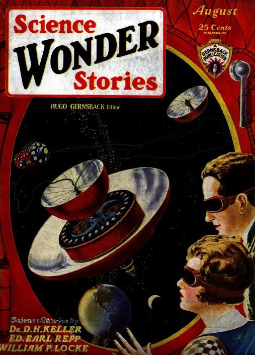 Air & Science Wonder Stories, 23 Vintage Pulp Magazine ...