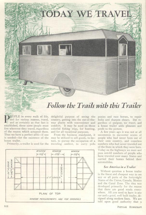 63 Antique Trailer Building Plans Tear Drop Camper Plans