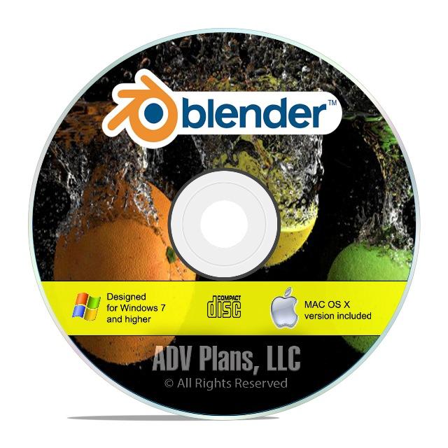 Details about Professional 3D Graphic Design, Animation Rendering Studio  Software Blender, F26