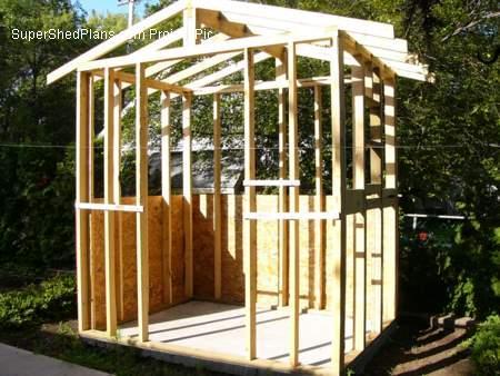 Custom Design Shed Plans 12x16 Gable Storage Diy Wood Shed Plans