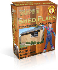 super shed plans package